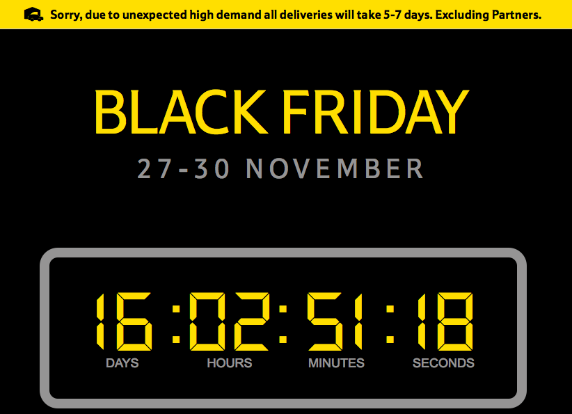 2c2891be986d Get Ready because Black Friday this year is going to be Bloody ...